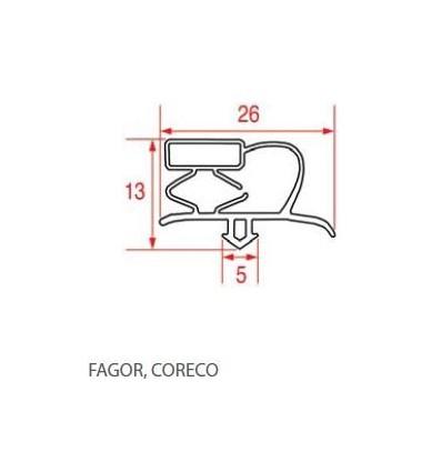Seals for refrigerators ,FAGOR,COREGO
