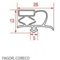 Guarnizioni per frigoriferi FAGOR-CORECO