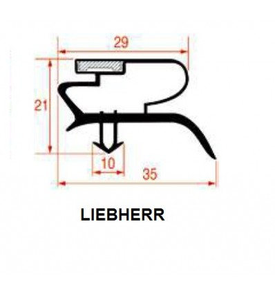 Уплотнители для Холодильников LIEBHERR
