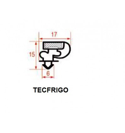 Les joints pour Réfrigérateurs TECFRIGO