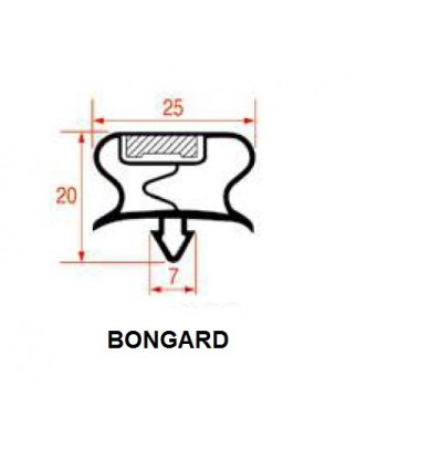 Gaskets for Refrigerators BONGARD
