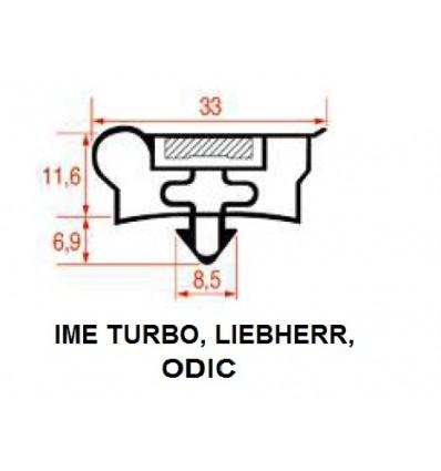 Joints pour Réfrigérateurs, IME TURBO, LIEBHERR, de la confédération upic