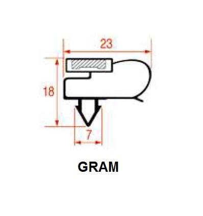 Dichtungen für Kühlschränke GRAM