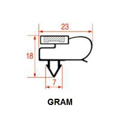 Gaskets for Refrigerators GRAM