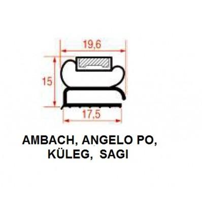 Уплотнения для Холодильников AMBACH ANGELO PO, KÜLEG, SAGI