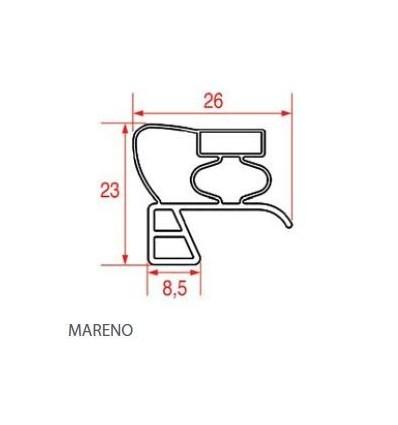 Уплотнения для холодильников MARENO