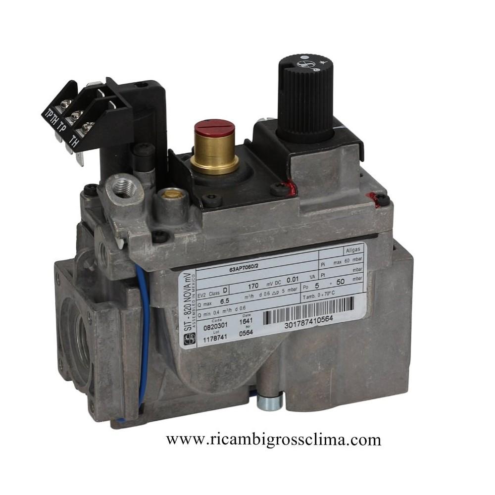 valvola gas elettrica mv 1 2 ff sit per