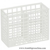 CONTAINER, CUTLERY holder FOR DISHWASHER COMENDA 130x55x100 mm