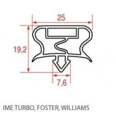 Guarnizioni per frigoriferi IME TURBO,FOSTER,WILLIAMS THIROIDE HMI