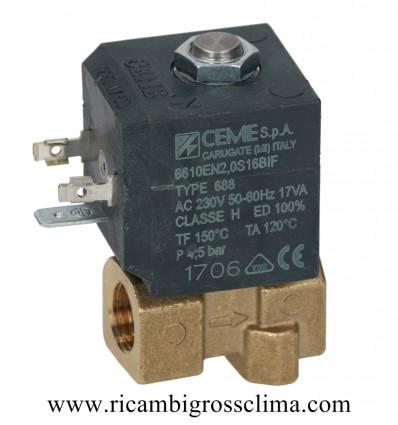 "6612VV3,0SBIF CEME электромагнитный Клапан CEME 2-Полосная ø 1/4""F"