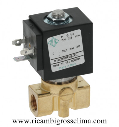 "04100022 NUOVA SIMONELLI электромагнитный Клапан ODE 2 Вариантами ø 1/4"""