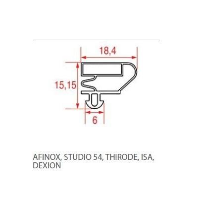 Les joints pour réfrigérateurs AFINOX-STUDIO 54-THIRODE-.ISA-DEXION