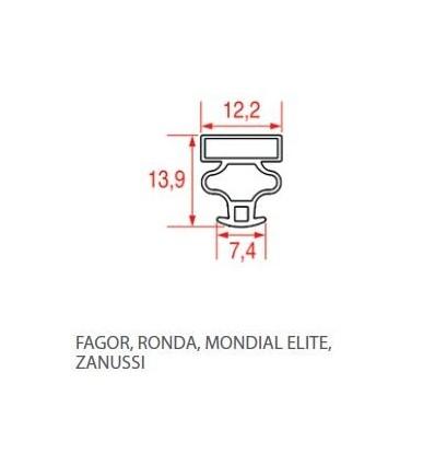 Joints d'étanchéité pour réfrigérateur FAGOR RONDA MONDIALELITE ZANUSSI