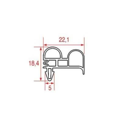 Les joints pour réfrigérateurs MONDIAL ELITE