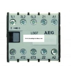 CONTATTORE AEG LS07 7A 24V 3Kw