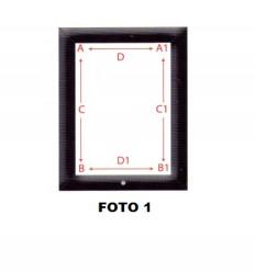 GUARNIZIONE PORTA FORNO ELOMA/PALUX 640x460 mm