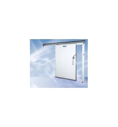 La porte de la cellule réfrigérateur coulissantes