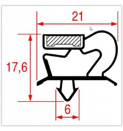 Seals for refrigerators, ICEMATIC,IRINOX,FRIULINOX,NORTECH,SAGI,POLARIS,ILSA,ZANUSSI,COLDILNE,MODULAR,TECNODOM,WHIRLPOOL