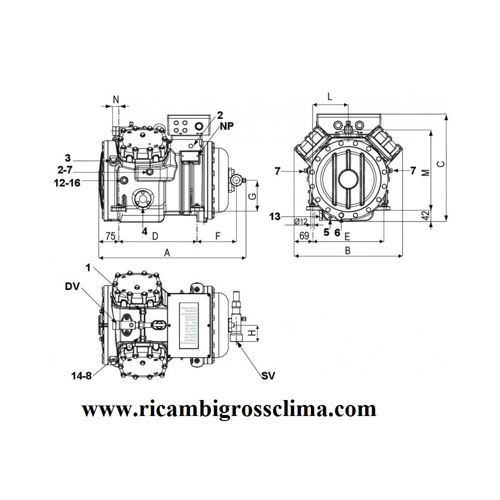 Semi Hermetic Compressor Frascold S2056y 20hp Wiring Diagram