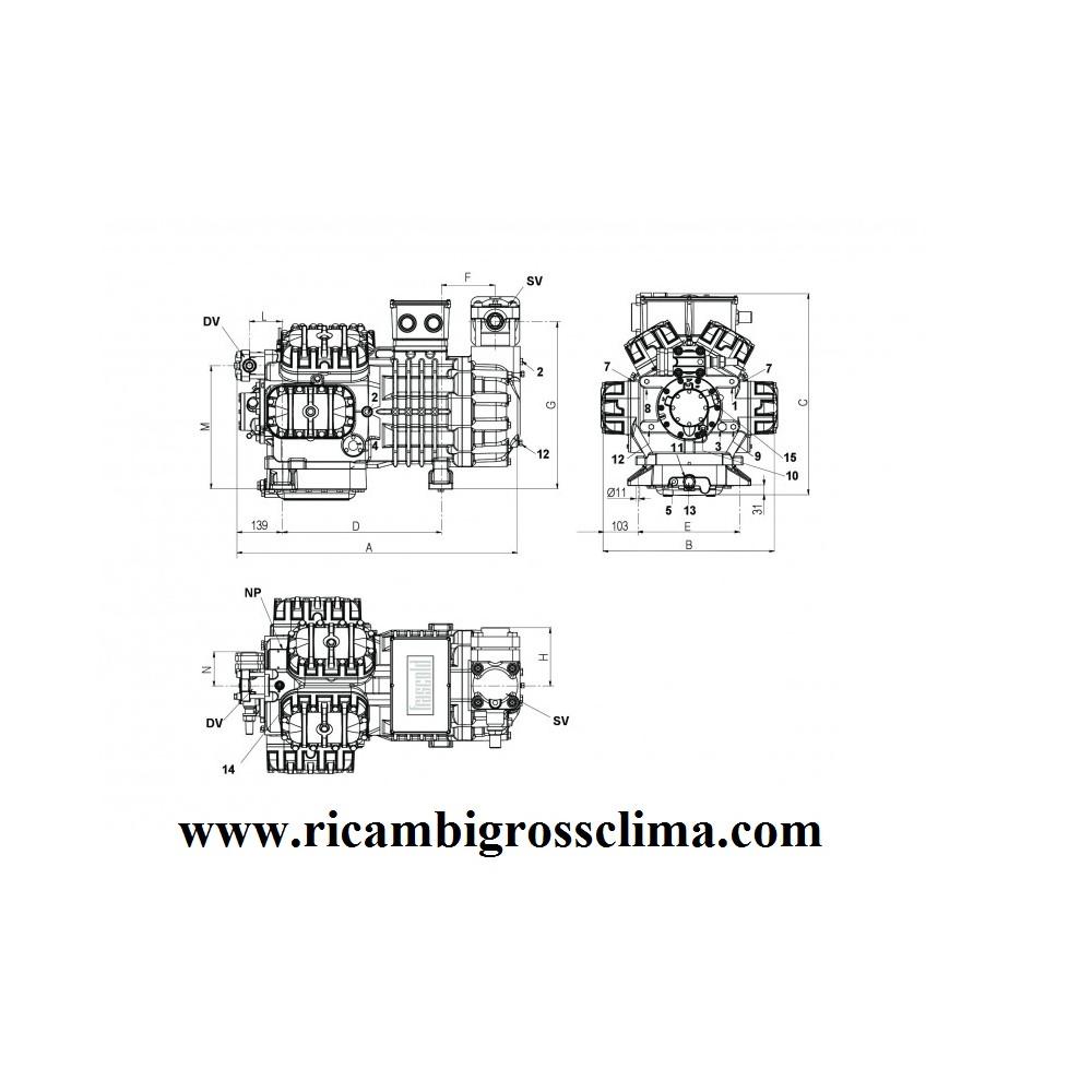 Semi Hermetic Compressor Frascold W40 142y 40hp Wiring Diagram