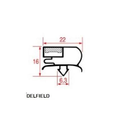 Уплотнения для холодильников DELFIELD