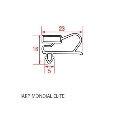 Уплотнения для холодильников IARU MONDIAL ELITE