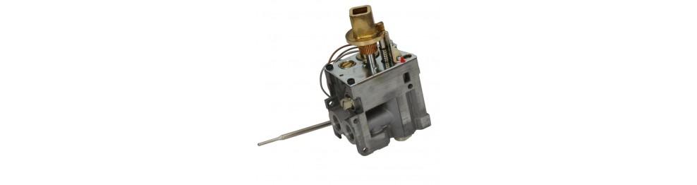 Gas valves for bain marie